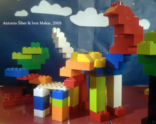 how to make a dinosaur out of legos